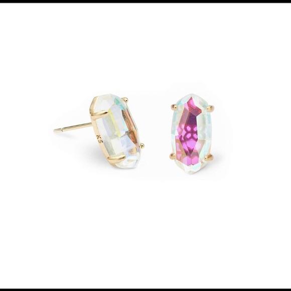 Kendra Scott Jewelry - KENDRA SCOTT DICHROIC BETTY STUD EARRINGS